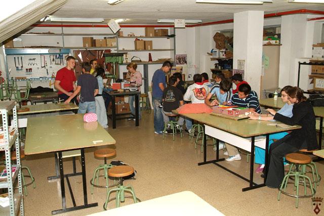 Aula de taller