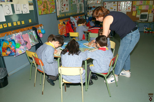 Clase educación infantil