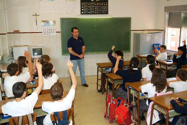 Clase educación primaria